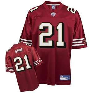 Frank Gore #21 San Francisco 49ers NFL Replica Player