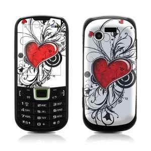 My Heart Design Protective Skin Decal Sticker for Samsung Evergreen