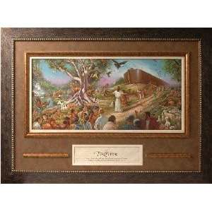 Framed Christian Art THE PROMISE OS