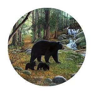 Early Morning Black Bears Spare Tire Cover Automotive