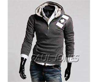 Stylish Slim Fit Mens Jackets Coats 3Colors 4Size Outwear sports