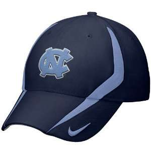 Nike North Carolina Tar Heels (UNC) Navy Blue 2009 Players Swoosh Flex