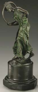 JEAN LEON GEROME   HOOP DANCER Bronze Statue