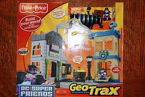NIB FISHER PRICE GEOTRAX GOTHAM CITY BATMAN