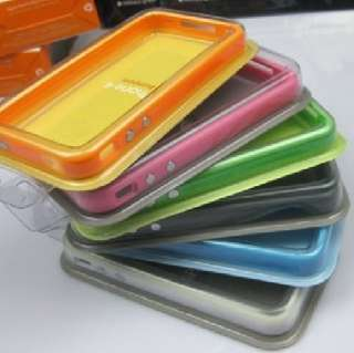 Bumper Frame TPU OEM Case cover for Apple iphone 4 4G