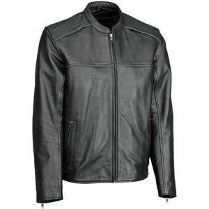 River Road Seneca Cool Leather Jacket   44/Black