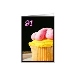 Happy 91st Birthday Muffin Card Toys & Games