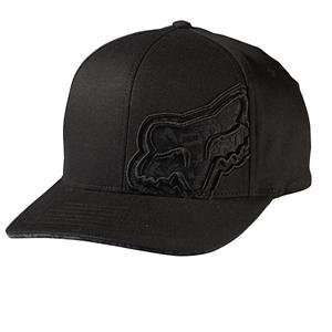 Fox Racing High and Mighty Flexfit Hat   S/MD/Black