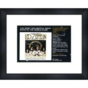 LED ZEPPELIN Early Days and Latter Days   Custom Framed