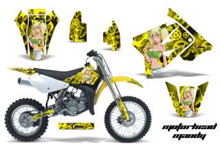 AMR RACING OFF ROAD MOTORCROSS STICKER WRAP MX DECAL KIT SUZUKI RM 85