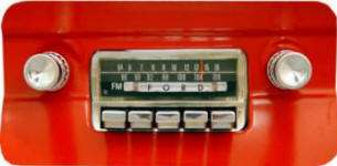 Mustang Stereo Radio USA 66 1964 65 66 Reproduction