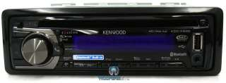 KDC X695 KENWOOD EXCELON CD RECIEVER STEREO BLUETOOTH  USB AUX IPOD