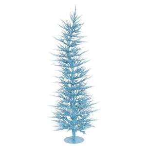 Vickerman 5 Foot Sky Blue Laser Christmas Tree
