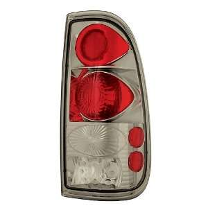 Ford Super Duty 2008 2009 Tail Lamps, Crystal Eyes Platinum Smoke