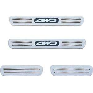 Custom Chrome Door Sill Step Cover Honda CRV 1997 2001