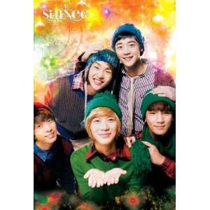 Shinee knit caps wintry theme POSTER 23.5 x 34 Korean boy band Taemin