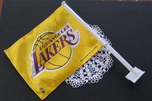 LAKERS Sports Car ~ Truck Flag ~ Double Sided