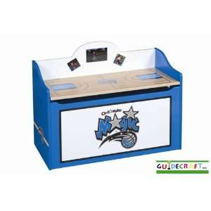 Orlando Magic Wood Wooden Toy Box Chest