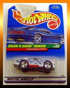 Hot Wheels DODGE VIPER RT/10 Dash 4 Cash Series #4 of 4 Cars Collector