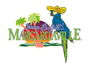MARGARITAVILLE Style H Vinyl Decal Sticker 5 wide FULL COLOR