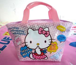 Cute Hello kitty dot bag Girls Handbag for gift #56