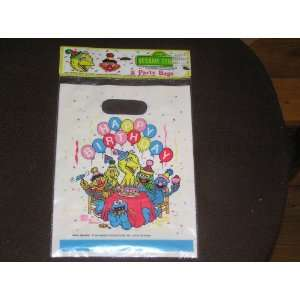 Sesame Street Happy Birthday Party Bags 8 Count Toys & Games