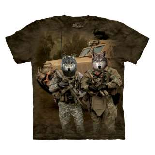 New WOLF PACK SOLDIERS T Shirt