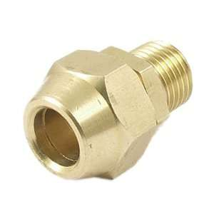 64 Male Thread 2/5 Tube Brass Pneumatic Air Quick Coupler Connector