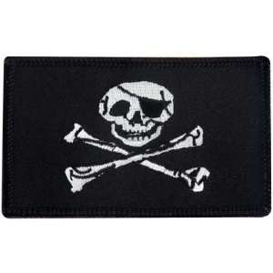 Jolly Roger Iron On Patch Arts, Crafts & Sewing