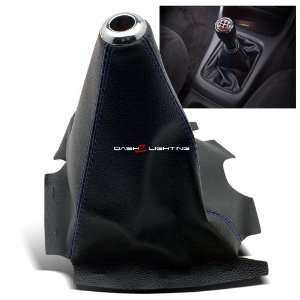 Universal PVC Leather Blue Stitch Shift Boot   Type R