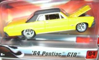 1964 64 PONTIAC GTO YELLOW HOT WHEELS ULTRA HOTS RARE