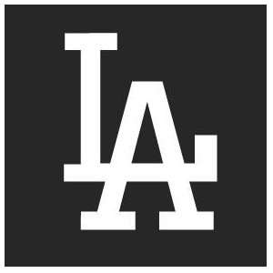 Los Angeles Dodgers Auto Car Wall Decal Sticker Vinyl