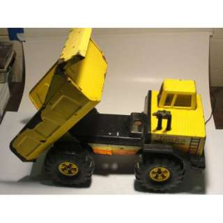Vintage Tonka TURBO DIESEL Dump Truck Pressed Steel Metal Toy