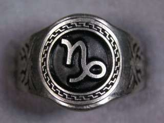 Zodiac rings All Signs Astrology Sign Jewelry Sizes 6 to 15 Your
