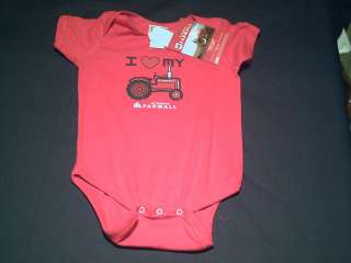 BABY FARMALL INTERNATIONAL HARVESTER ONESIE BODY SUIT