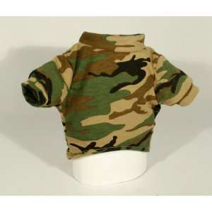 Dogs in Olive Green Camouflage Design. Size X Large.