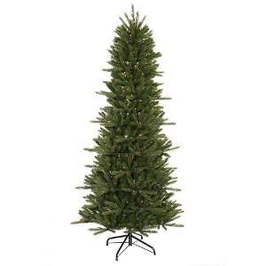 Lit Slim Vermont Fir Instant Shape Artificial Christmas Tree   Multi