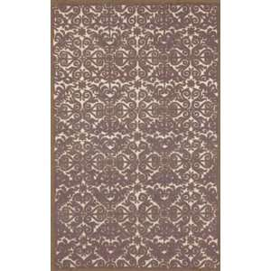 Trans Ocean Antigua Scroll Lavender Rug   2 3 x 8