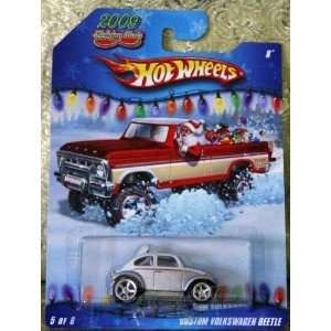 Hot Wheels 2009 Holiday Rods #5/6   Silver/White Custom