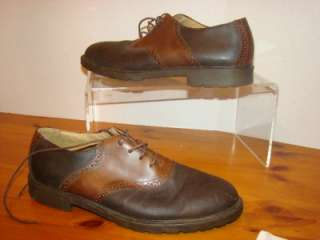BASS AS Oxford Dress Shoes Black/CHOCOLATE BROWN Leather Men
