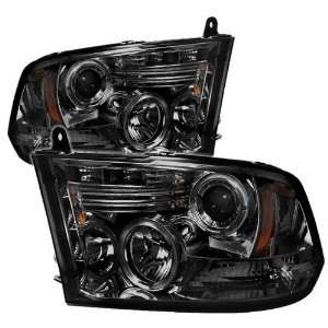 Spyder Auto PRO YD DR09 HL SM Smoke Halo LED Projection