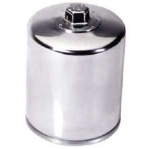 K&N Twin Cam Chrome Oil Filter Automotive