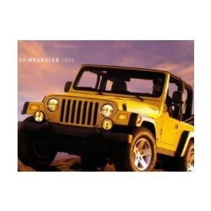 2006 JEEP WRANGLER Sales Brochure Literature Book