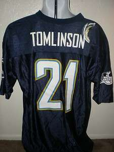 LaDainian Tomlinson San Diego Chargers MENS XLarge XL Jersey UXE