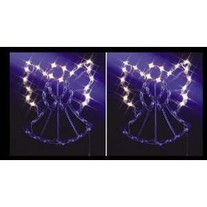 LIGHTED ANGELS CHRISTMAS INDOOR/OUTDOOR DECORATION