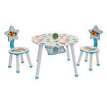 Mr. Men Little Miss 3 Piece Table and Chair   Idea Nuova   BabiesR
