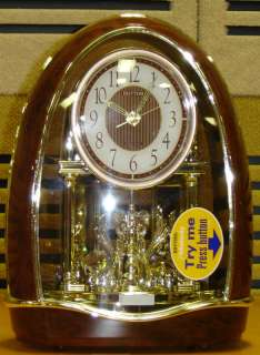 Classic Nightingale Rhythm Clock   16 tunes w/motion