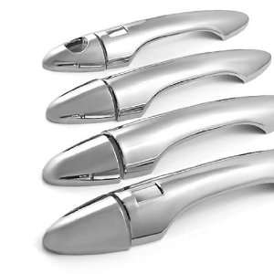 Chrome Door Handle Cover Set 3M Self Adhesive for Hyundai Tucson IX35