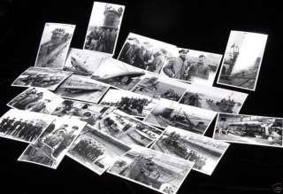 German Kriegsmarine U Boats WWII War Photographs set #9