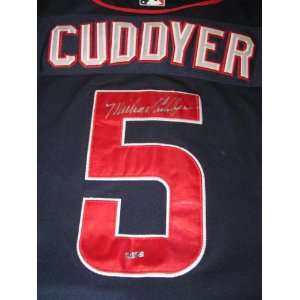 MICHAEL CUDDYER SIGNED AUTOGRAPHED MINNESOTA TWINS JERSEY
